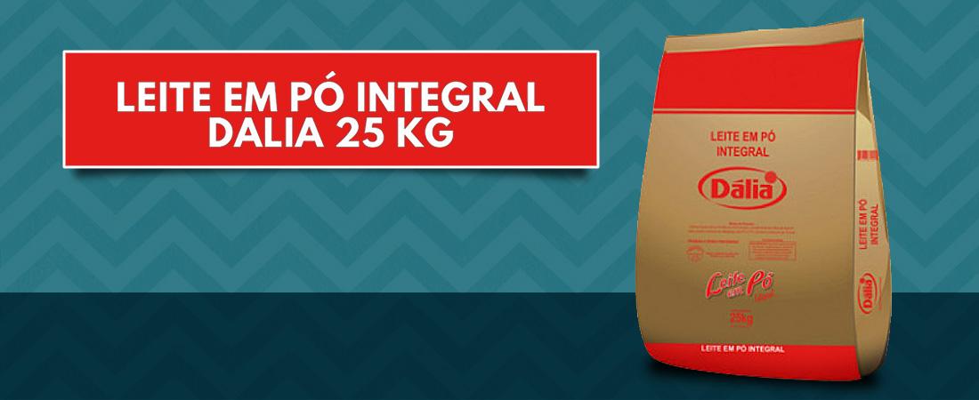 Leite em pó integral Dalia 25kg
