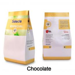 Base para Sorvete Selecta Especial Sabor Chocolate 0,8kg