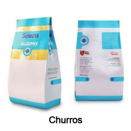 Base para Sorvete Algemix Sabor Churros 1 Kg