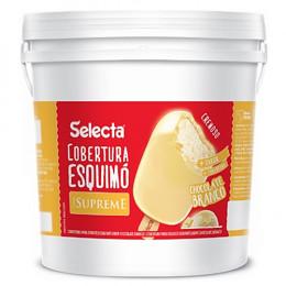 Cobertura Skimo Chocolate Branco Supreme Duas Rodas 12KG