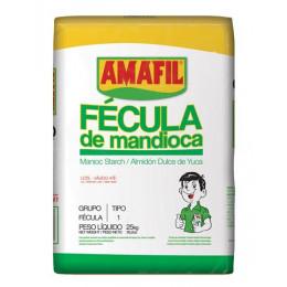 FECULA DE MANDIOCA AMAFIL SC 25KG
