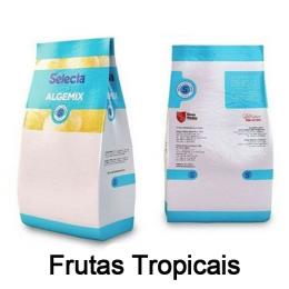 Base para Sorvete Algemix Sabor Frutas Tropicais 1kg