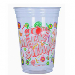 Copo Plastico Milk shake Kopu's 550ML Pacote 50 unidades