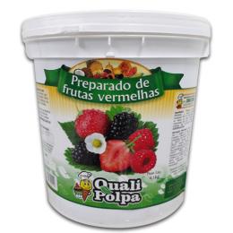 Preparo polpa de frutas vermelhas 4,1kg - Qualipolpa