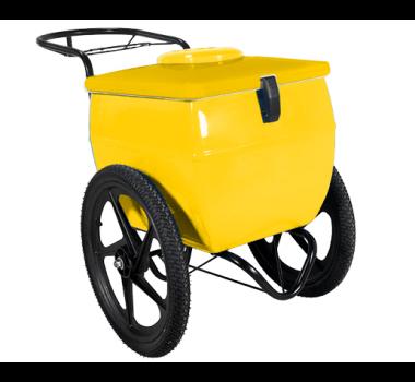 Carrinho para Picole  Amarelo 250/300