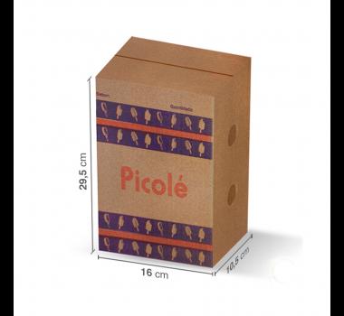 Caixa Papelão 50 Picolés (G) C/50 Unidades