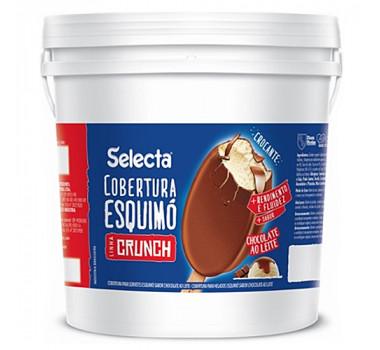 Cobertura Skimo Chocolate Crunch Duas Rodas 12KG