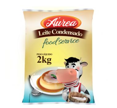 Leite Condensado Áurea BG 2kg