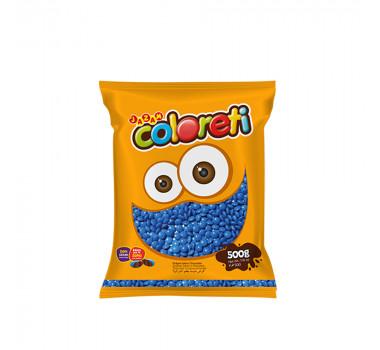 Confete Mini Coloreti Jazam Azul 500g