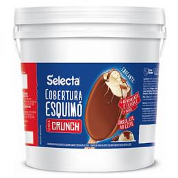 Cobertura Skimo Chocolate Crunch Duas Rodas 12 KG
