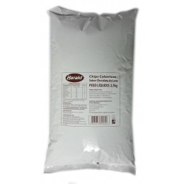Chocolate Harald Gotas Chips 2,5 KG