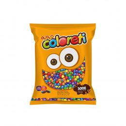 Confete Mini Coloreti colorido Jazam 500g